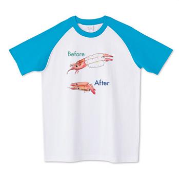 Tシャツ『ビフォーアフター』